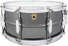 "Ludwig Black Beauty Snare Drum 6.5"" x 14"" 8 Lug LB415"