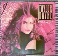Taylor Dayne – Tell It To My Heart Vinyl LP Album 33rpm 1987 Arista 74022