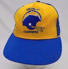 Vintage San Diego Chargers Hat 1974-1987 Adult Size Adjustable Snapback Mesh