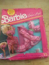 #7391 BARBIE DANCE MAGIC FASHION - Disco or Tap Dancing outfit (c) 1989