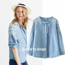 Collarless Casual Regular Size Tops & Blouses for Women