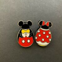 Mickey and Minnie Mouse - Easter Eggs - 2 Pin Set Disney Pin 82461