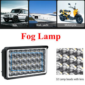 "4""32W Work Spot Light Bar 6500K Car Driving Fog Lamp DC12-80V Truck Off-road SUV"
