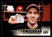 2018-19 Upper Deck Series One Teuvo Teravainen Canvas #C15