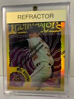 MIKE MUSSINA* 1996 Topps Finest Refractor #90 * Baltimore Orioles