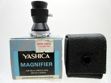 New Yashica Magnifier For 35mm Single Lens Reflex Camera Made in Japan