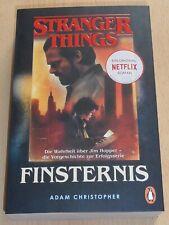 Penguin Verlag - Adam Christopher - Finsternis - Stranger Things - neuwertig!