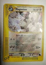 Pokemon Magneton H19/H32 Skyridge Lightly Played Holofoil Rare Holo LP