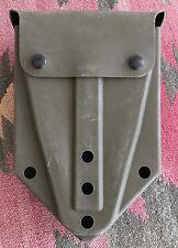 US Army Tri-Fold Shovel Case ALICE Clips Rubber Snap Closure Surplus Military ~~