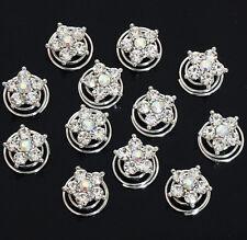 12pcs twist crystal star bridal hair pins hair accessories wedding party