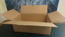 100 pc pack -  Moving Shipping Boxes Cardboard Cartons 13x12x5  with Auto Bottom