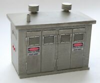 BUILDING PLANS -Electrical Control Cabinet G Scale 1:24 Model Railroad Diorama
