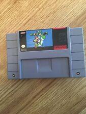 Super Mario World Super Nintendo Snes Game Cart Works SN1