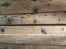Reclaimed Solid Pine Floor Tongue/Groove from OLD boards Thick Long Wood Antique