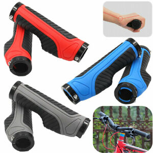 2Pcs Handlebar Grips Bike Hand Grip Mountain Bicycle Cycling Handle Bar Lock on