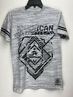 American Fighter by Affliction Short Sleeve T-Shirt Mens NOBLE Gray