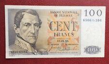 Belgique -  Superbe Billet de 100 Francs du  08-01-1955