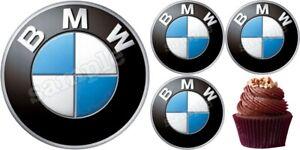 BMW Auto Zubehör Eßbar Tortenaufleger Party Deko Geburtstag Muffin neu Cupcake