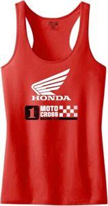 Factory Effex Honda Tank Top T-Shirt Motorcycle ATV/UTV Street Bike Dirt Bike