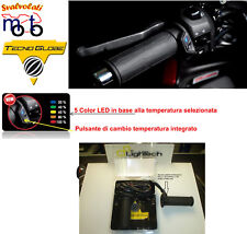 Manopole Riscaldate Tecno Globe130 mm interruttore integrato per moto ducati