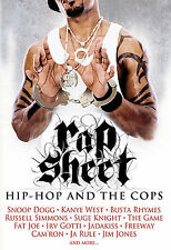 Rap Sheet: Hip Hop and the Cops (DVD, 2007) NEW Factory Sealed