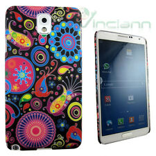 PELLICOLA+Custodia rigida INDIA per Samsung Galaxy Note 3 N9005 cover nuova