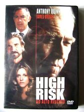 Dvd High Risk - Ad alto rischio con James Brolin 1981 Nuovo