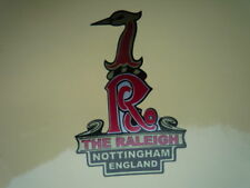 RALEIGH Old Style Headstock Sticker Bike MOPED Chopper Bicycle Racing Runabout