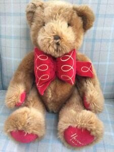 Harrods Foot Dated 30cm Christmas Teddy Bear 1997