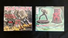Iron Maiden The Number of the Beast cd, figurine and patch. Limited Edition box