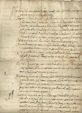 San Piero a Vico Lucca - Picciorana Antico Contratto Manoscritto 1680