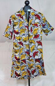 Two Piece Set Bermuda Shirt/Shorts Summer Mens Outfit.