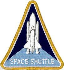 Shuttle Program Embroidered Patch 10cm x 11cm approx