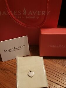 Retired James Avery Sterling Heart Charm