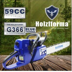 "Farmertec Holzfforma G366 MS361 Chainsaw 59CC WT 20"" Guide Bar Saw Chain"