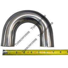 """CXRacing 1.75"""" Mandrel Bend 180 Degree U 304 Stainless Steel Pipe Exhaust Header"""