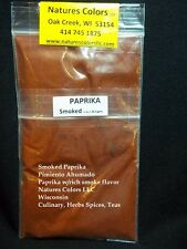 Paprika Smoke Ground Natural Spice Ingredient That Is Big On Flavor.