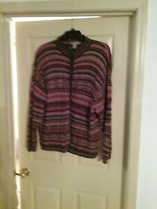 Women's Mountain Lake II Brand Plus Size Striped Sweater,  Size 3X,  Good...
