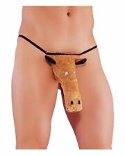 Mens briefs thong novelty fun stag night one size