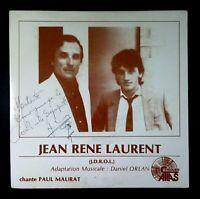 """JEAN-RENE LAURENT Douce Maman Douce / Soir D'automne FRENCH VINYL 7"""" 45 ATLAS"""