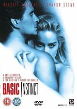 Basic Instinct 2008 Michael Douglas, Sharon Stone, George UK REGION 2 DVD