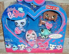 Littlest Pet Shop HEART VALENTINE w tags Exclusive DACHSHUND 556 557 558 559 HTF