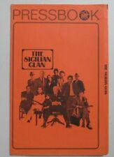 THE SICILIAN CLAN ORIGINAL PRESSBOOK 1969 NO CUT OUTS GANGSTER FILM JEAN GABIN