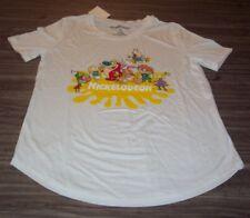 WOMEN'S TEEN  NICKELODEON REN & STIMPY INVADER ZIM RUGRATS T-shirt SMALL NEW