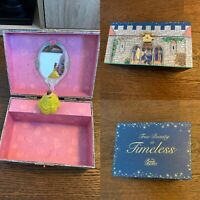 BEAUTY AND THE BEAST Musical Jewellery Box Ex Cond Belle Disney