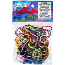 Rainbow Loom Confetti USA Mix Rubber Bands Refill Pack [300 ct] Free 3 Day Ship