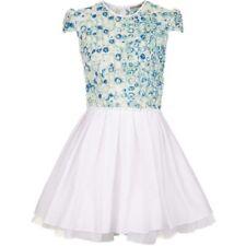 Jones and Jones Topshop Concession Laura Pleated Floral Skater Dress U.K 8/10