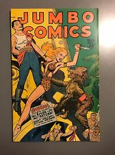 Jumbo Comics #106 Scarce!!! 1947 Fiction House Sheena Ghost Gallery Sky Girl