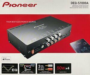 NEW Pioneer DEQ-S1000A Compact Car Amplifier w/ Digital Signal Processor, 4x14W