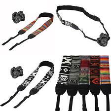 Vintage Shoulder Neck Strap Sling Belt For Nikon Canon Sony DSLR SLR Camera